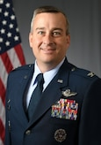 Colonel Alain D. Poisson, Commander, 552nd Air Control Wing