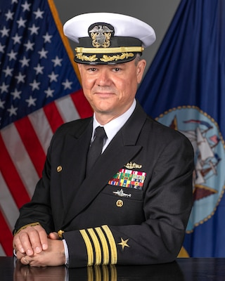 Captain Robert D. Figgs, Commanding Officer, Trident Refit Facility.