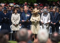 U.S. Marine Corps Gen. Joe Dunford, chairman of the Joint Chiefs of Staff, attends the D-Day 75th anniversary with the UK delegation in Bayeux, France June 6, 2019.