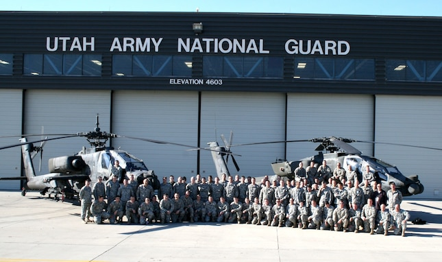 Federal Technician Employees from the Army Aviation Support Facility in Utah.
