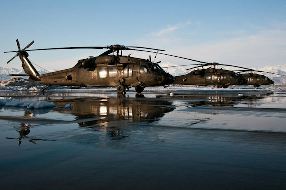 Soldiers with 2nd Battalion 211th Aviation Regiment conducting flight missions while on deployment in Afghanistan.