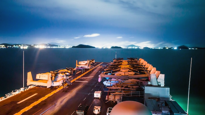 USS Boxer Visits Thailand during Indo-Pacific Operations
