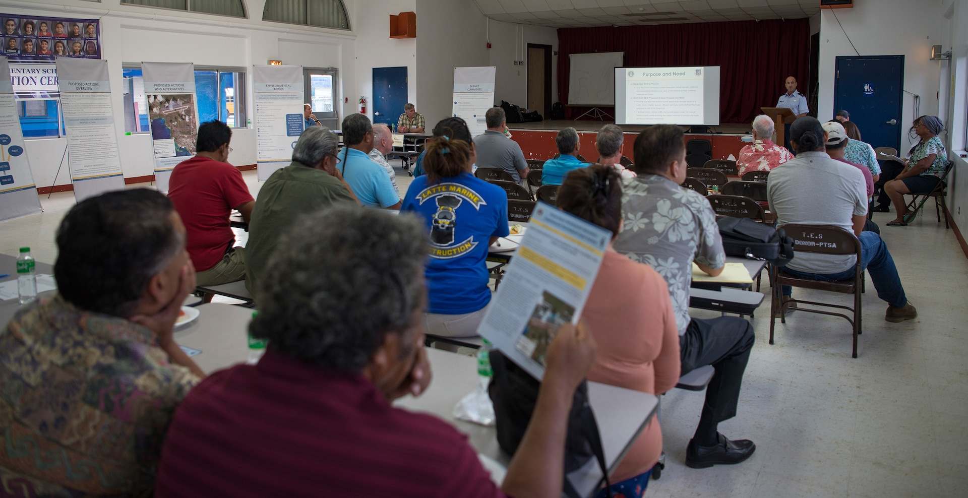 Public Hearing Held for Tinian Infrastructure Improvement Plans