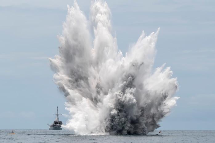 US, Royal Thai Navy Conclude CARAT Thailand 2019