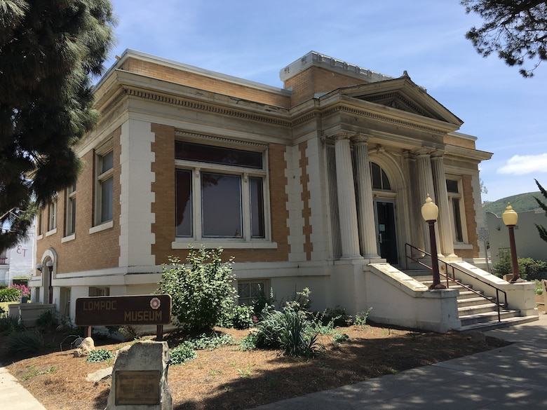 The Lompoc Museum, housed in an old Carnegie Library building, tells the history of the Chumash Indians native to the area, as well as the history of Lompoc.