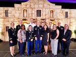 Members of the Brooke Army Medical Center Secretarial Designee Cost Analysis Team receive the 2018 Distinguished Team Award from the American Society of Military Comptrollers at the ASMC Professional Development Institute May 29 in San Antonio. The SECDES program gives BAMC the ability to treat critically injured patients who would not otherwise be eligible to receive care at a military treatment facility.