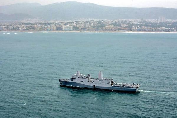 USS John P. Murtha arrives in Visakhapatnam, India