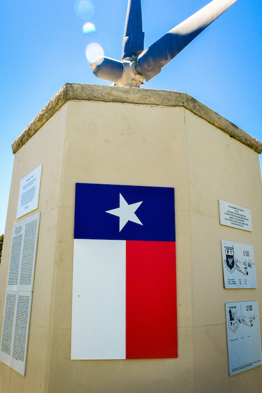 Monument dedicated to 136 AW
