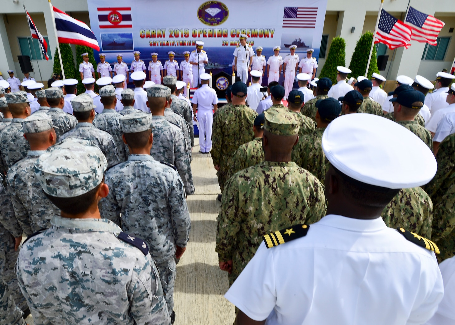 This year marks the 25th iteration of CARAT, a multinational exercise series designed to enhance U.S. and partner navies' abilities to operate together in response to traditional and non-traditional maritime security challenges in the Indo-Pacific region.