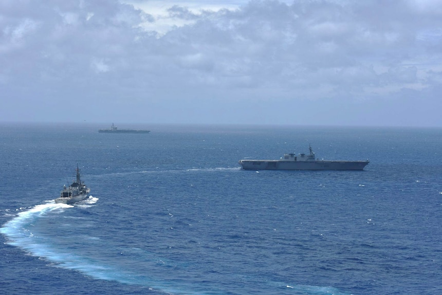 Courtesy photo from the Japan Maritime Self Defense Force.