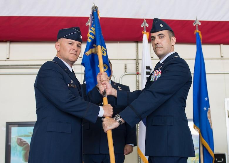 5th Reconnaissance Squadron Change of Command