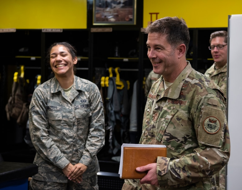 Getting to know our Airmen