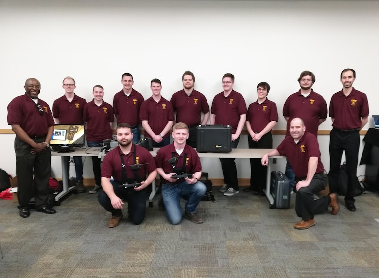 The Air Force Research Laboratory University and Service Academy Challenges harness the talents of students and cadets to develop real-world solutions to complex problems. This year's winning University Challenge team from the University of Minnesota Duluth used technologies including Doppler radar to locate and identify hidden people. (Courtesy photo)