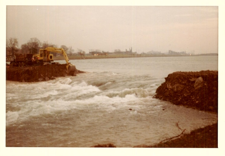 This June marks the 50 year anniversary of a momentous survey operation by the U.S. Army Corps of Engineers, Buffalo District – the dewatering of the American Falls in June 1969.