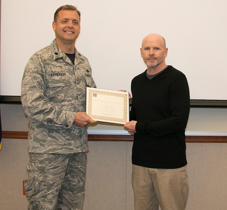 EADS Civilian Wins Two NGB Awards