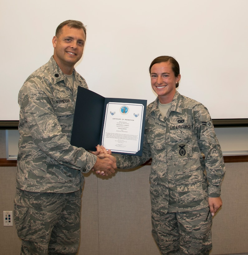 Roberts Promoted to Senior Airman