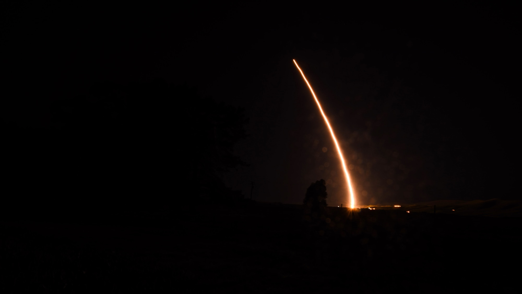 An unarmed Minuteman III intercontinental ballistic missile launches during an operational test, Feb. 5, 2019 at Vandenberg Air Force Base, Calif. There are many different components. Whether it be 30th Space Wing Airmen, mission partners, both government agencies and private companies or contractors, who contribute to launching a missile or rocket at Vandenberg AFB, each diverse role plays an important part in accomplishing the mission.