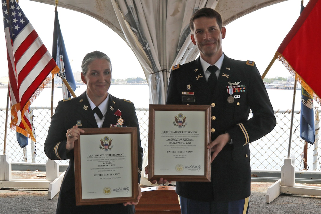 West Point career Soldiers marry, serve and retire together