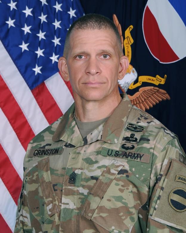 Command Sgt. Maj. Michael A. Grinston