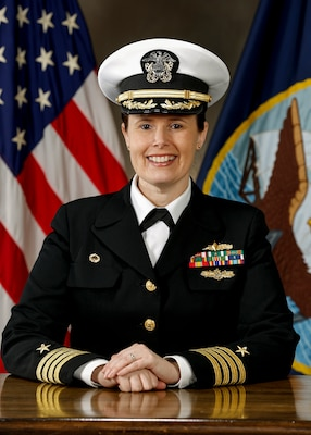 Captain Dianna Wolfson, U.S. Navy Commander, Puget Sound Naval Shipyard & Intermediate Maintenance Facility
