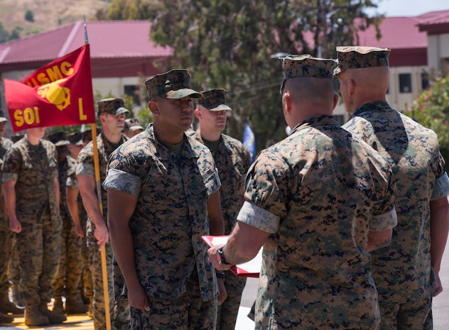 """The award, formerly known as the """"Motor Transport Operation Chief of the Year,"""" was renamed this year in honor of Master Gunnery Sgt.  Gerardo Acevedo, a motor transport operation chief who passed away Feb. 3, 2018."""