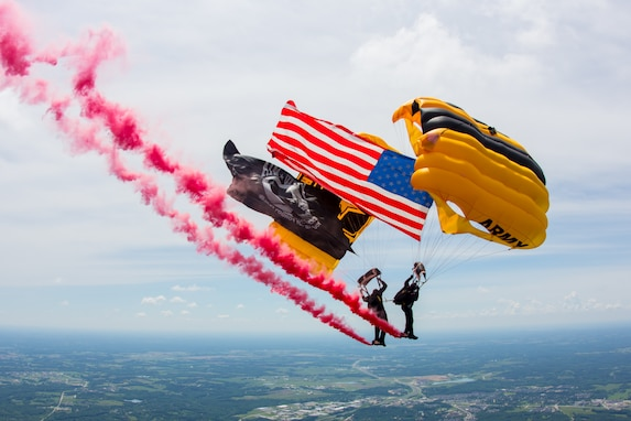 D-Day, Golden Knights