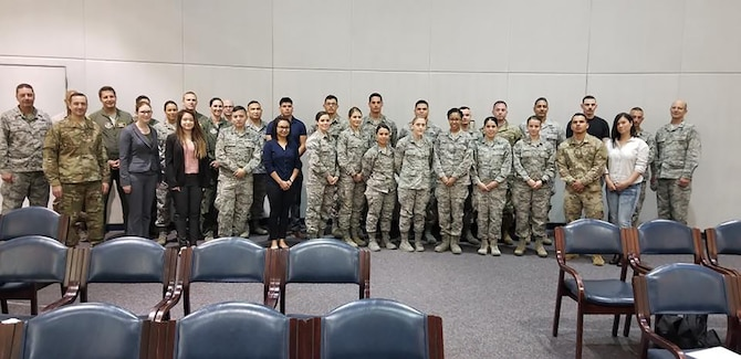 The 349th Air Mobility Wing welcomed our newest 349th members during the May UTA.
