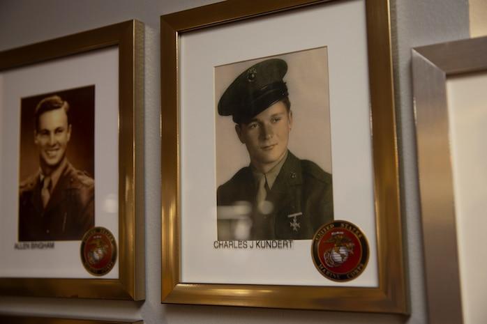 WWII Marine Raider shares his stories with Marines from 1st Marine Raider Battalion