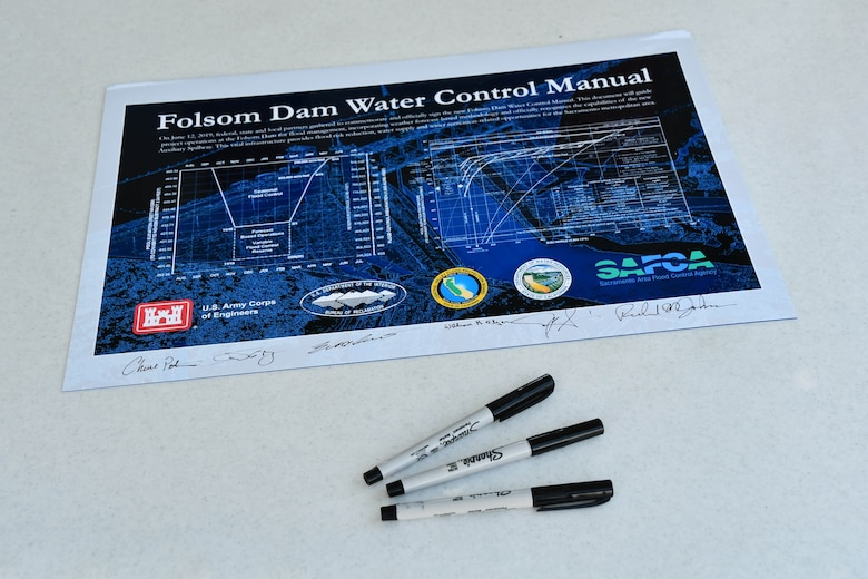 document with markers