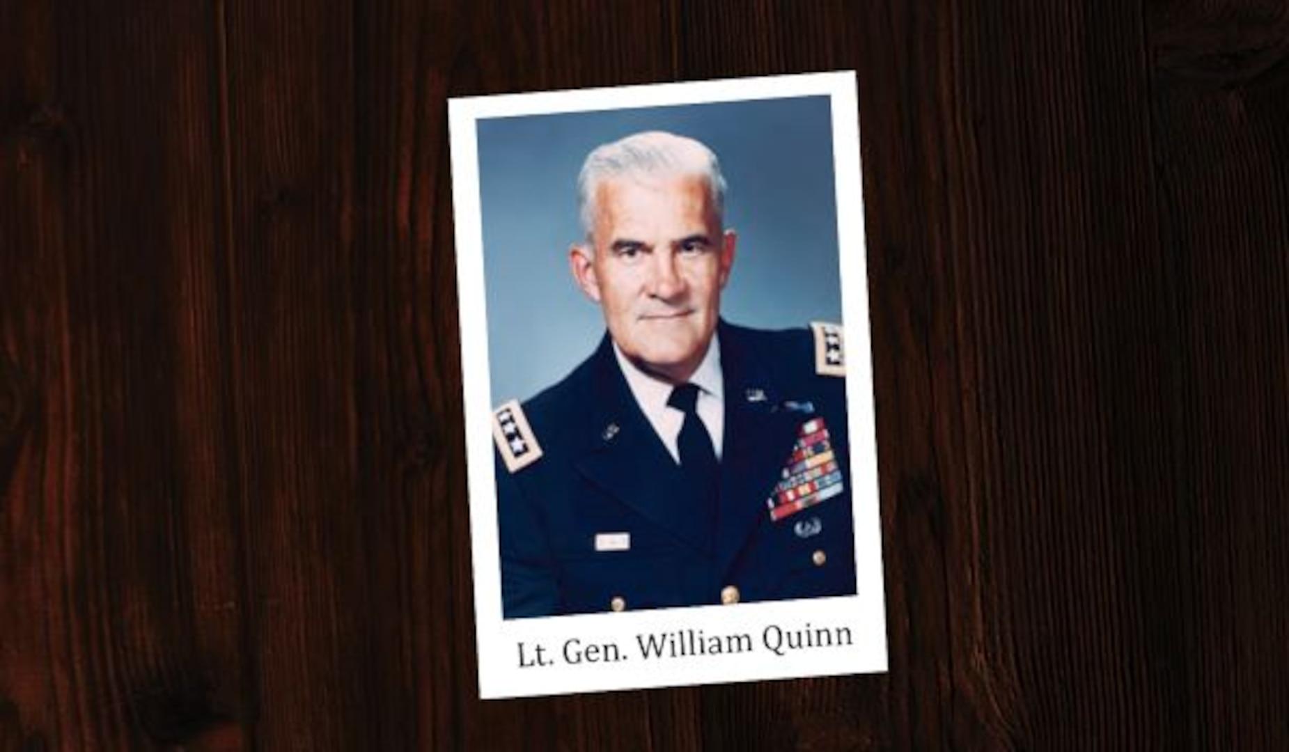 LTG William Quinn, DIA's first deputy director
