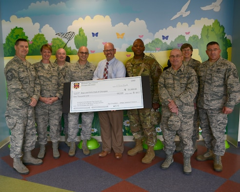 Westover Top Three donate to Boys and Girls Club