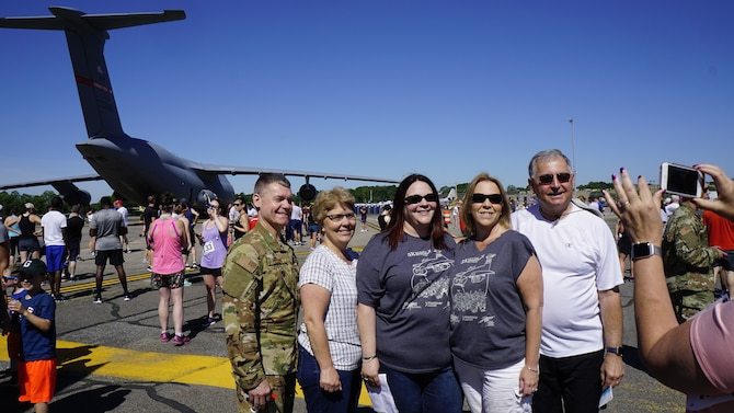 Run the Runway event takes off at Westover