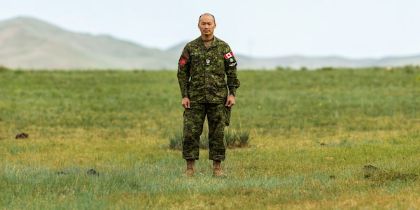Canadian Soldier Participates in International Peacekeeping Exercise
