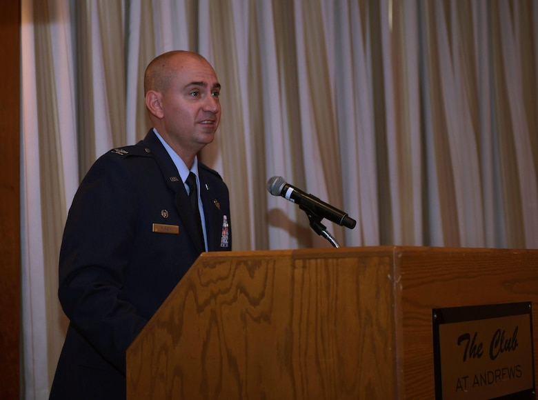 Commander of the 11th Wing speaks