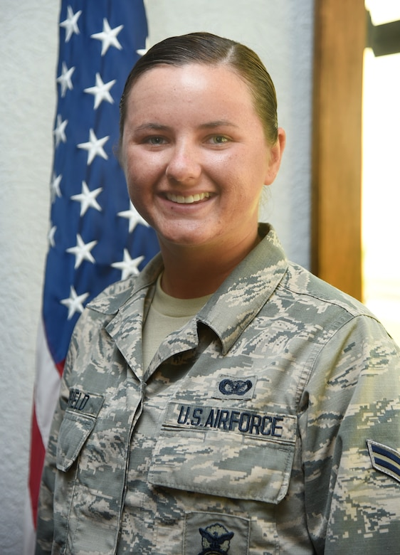 Airman First Class Bethany Mayfield