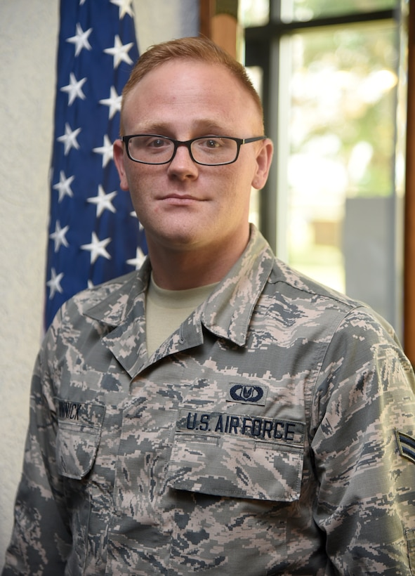 Airman First Class Mason Minnick