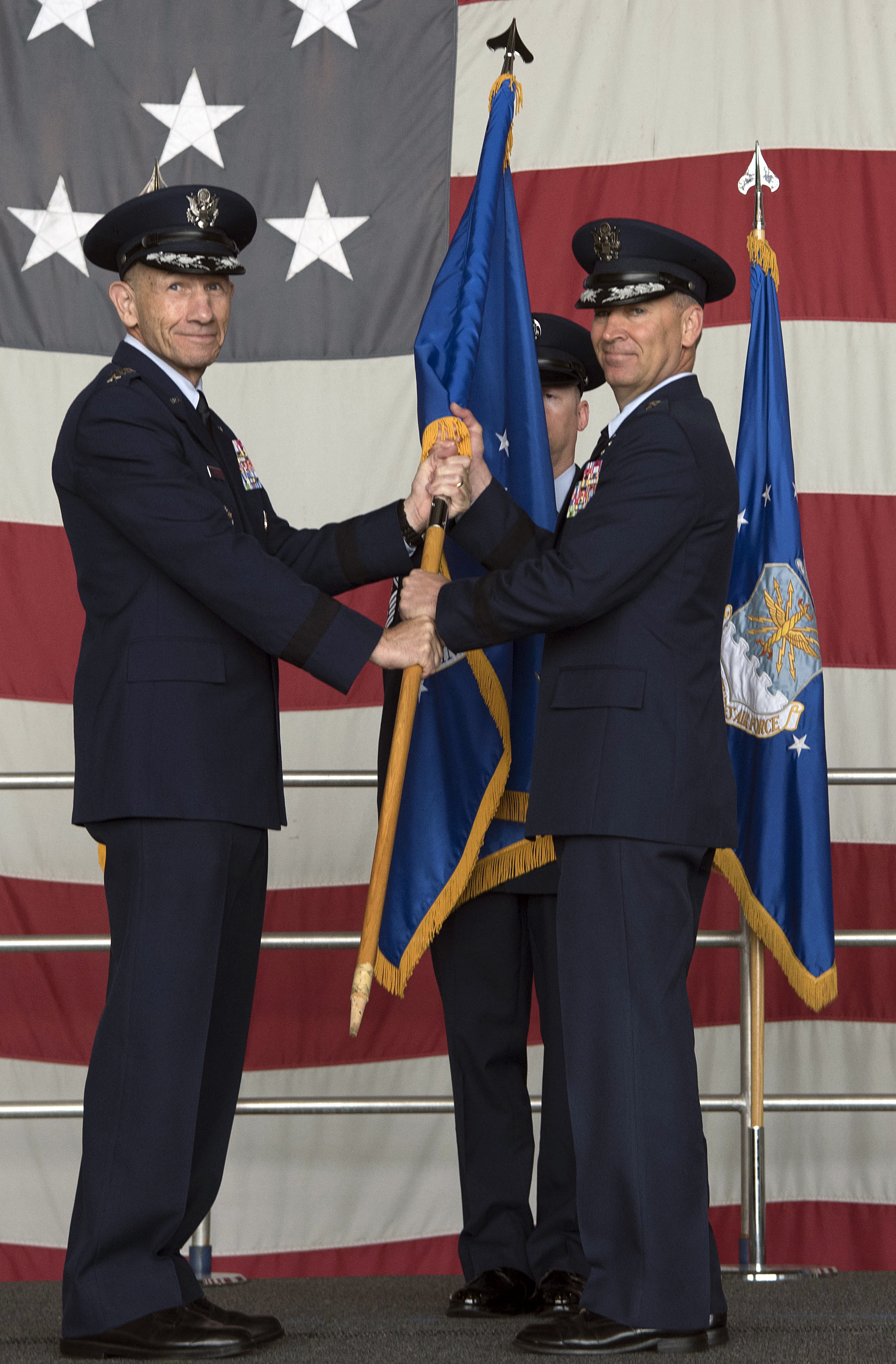 NINTH AIR FORCE CHANGE OF COMMAND HIGHLIGHTS JOINT