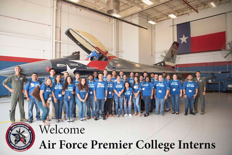 Premier College Interns immerse into Air Force mission