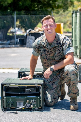 Faces of Pendleton: Cpl. Dillan Binegar