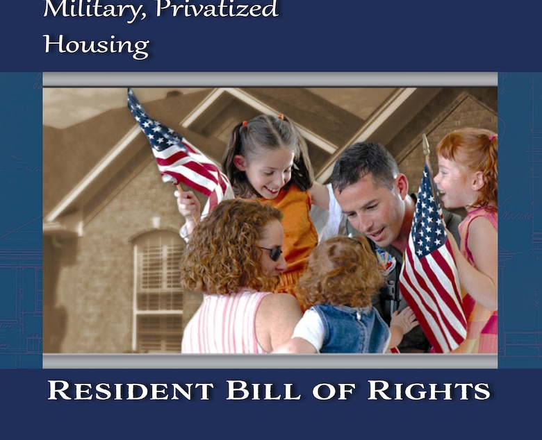 The Department of Defense is asking current residents of military privatized housing to provide feedback on a draft version of a Resident Bill of Rights.