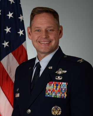 Col. David A. Doss, 28th Bomb Wing Commander