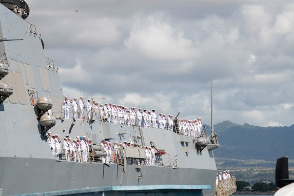 USS Preble Returns Home from Indo-Pacific Deployment