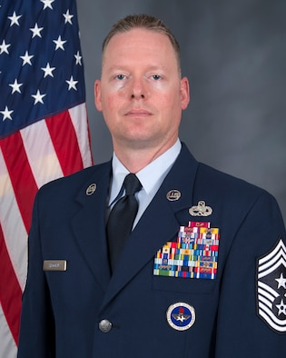 Ninth Air Force command chief