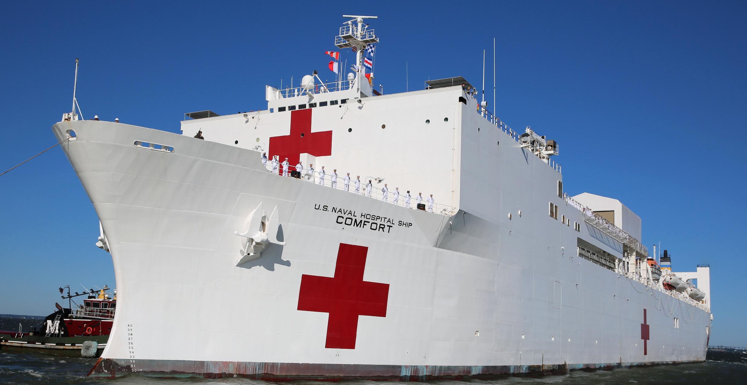 Hospital Ship USNS Comfort Departs Norfolk for Medical Mission > U.S.  Southern Command > News