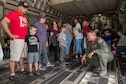 Reserve Citizen Airmen with the 732nd Airlift Squadron and 514th Aircraft Maintenance Squadron, 514th Air Mobility Wing, stage a C-17 Globemaster III for display during the Innovation in Flight Family Day and Outdoor Aviation Display in Dulles, Virginia, June 5, 2019.