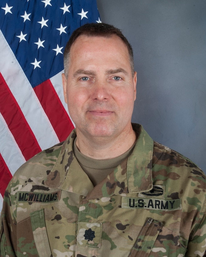 Lt. Col. Chuck McWilliams Chemical Officer