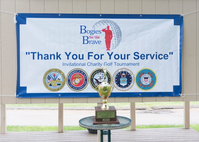 Bogies for the Brave hosts a charity golf tournament June 1, 2019 at Hunter Golf Club in Meriden, Connecticut. The event raised money for Post-9/11 veterans, their families, and children of the fallen. (U.S. Air National Guard photo by Airman 1st Class Chanhda Ly)