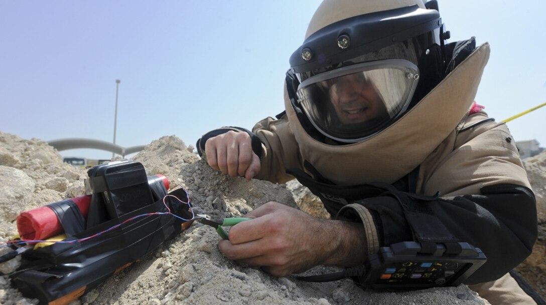 Civil Engineering -- Explosive Ordnance Disposal (U.S. Air Force photo)