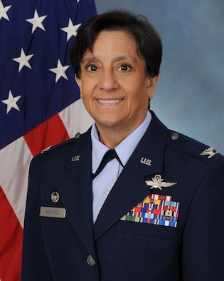 Colonel Lisa M. Martinez, 341st Mission Support Group commander, Malmstrom Air Force Base, Montana. (U.S. Air Force photo by John Turner)