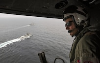 USS John P. Murtha, Indian Navy Destroyer Conduct Maritime Exercises